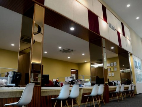 BANDAR UTAMA – OFFICE & GALLERY RECEPTION AREA