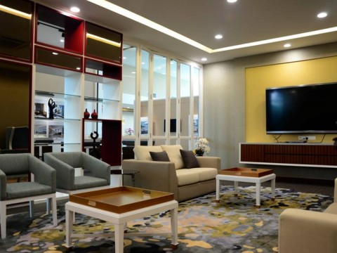 BANDAR UTAMA – OFFICE & GALLERY  WAITING AREA