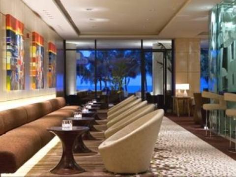 SHERATON HOTEL & SPA , NHA TRANG . VIETNAM – Connexions Lounge Area
