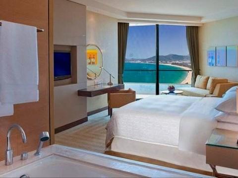 SHERATON HOTEL & SPA , NHA TRANG . VIETNAM HOTEL ROOM